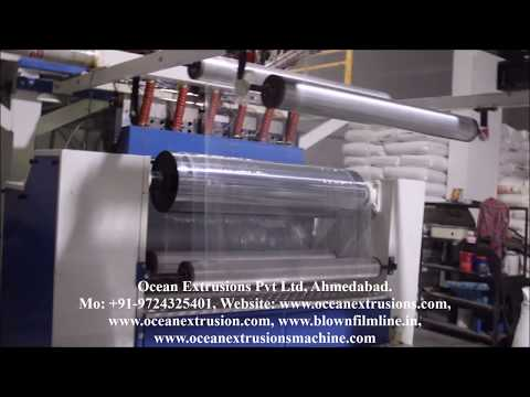 Garment Packing Plastic Bags Extrusion Lines