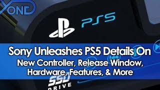 Sony Unleashes PS5 Details On New Controller, Release Window, Hardware, Features, & More