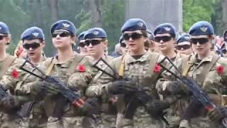 Парад 9 мая 2019 в Харькове на мемориале Славы в День Победы