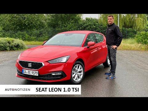 Seat Leon 1.0 TSI Style (110 PS): Reicht die Basis bei Motor und Infotainment? Test | Review | 2021