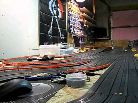 AFX Tyco HO slot car home track