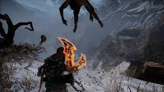 """God of War NEW GAME PLUS: Baldur """"The Stranger"""" Boss Fight"""