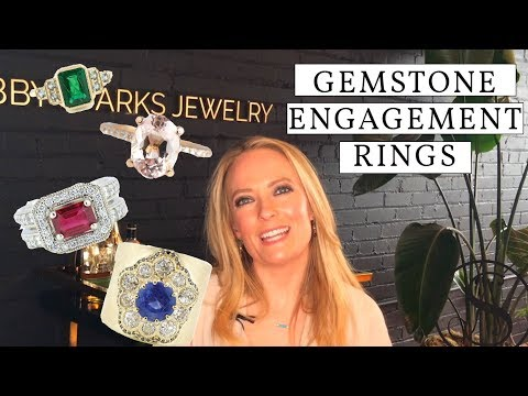 Gemstone Engagement Rings: The Best Colored Stones for your Ring