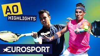 Rafael Nadal  vs Hugo Dellien Highlights | Australian Open 2020 Round 1 | Eurosport