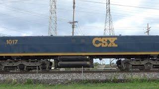 "VERY RARE CSX Rebuilt Yard Slug, CREX ""Citirail"" Leader, And Thunderstorm Railfanning!"