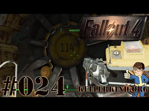 Fallout 4 [HD|60FPS] #024 - Vault 114 ★ Let's Play Fallout 4