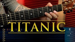 Titanic Theme | My Heart Will Go On Guitar Tutorial | TABS Christianvib