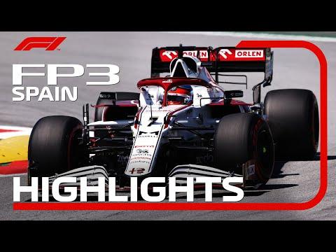 F1第4戦スペインGPフリープラクティス3のハイライト動画