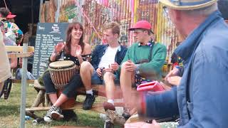 African Drumming @ Roots Yard: Shambala 2018 (plus video clip)