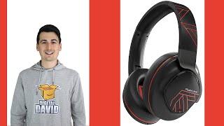 Active Noise Cancelling Bluetooth 5.0 Headphones // PowerLocus Review