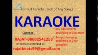 Aap ke kamre mein koi rehta hai karaoke track - YouTube