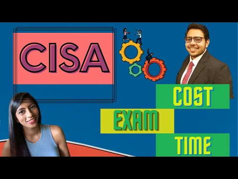 CISA Certification  Exam, Study material, Cost, Time, all in 11 mins   Nidhi Nagori