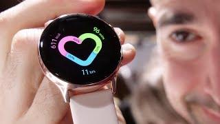 Смарт-часы Samsung Galaxy Watch Active Black (SM-R500NZKA) от компании Cthp - видео 1