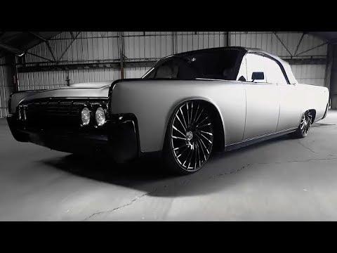 "Lexani Custom 22"" Wheels on 1964 Lincoln Continental"