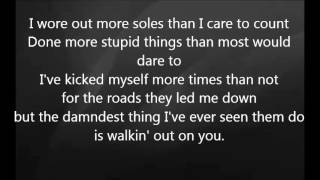 Eric Church - These Boots with Lyrics