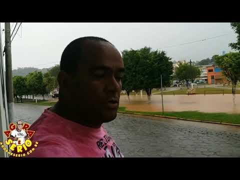 Enchente nas Ruas de Juquitiba