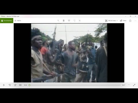 Liberian Civil War -  ©SVT1 documentary 1995 [viewer discretion hghly adviced!!!]