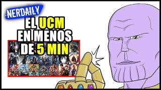 El Universo Cinematográfico de Marvel EN 5 MINUTOS