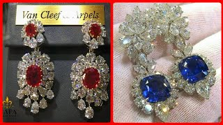 Most Expensive And Luxury Gemstone Rings In 14k Gold/ Ruby Emerald Diamond Opal Engagement Rings