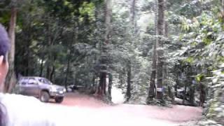 preview picture of video 'Abfahrt im Pickup, Khao Kitchakut, Chanthaburi, Thailand'