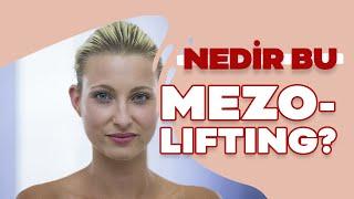 Mezolifting ile cilt gençleştirme yöntemi nedir
