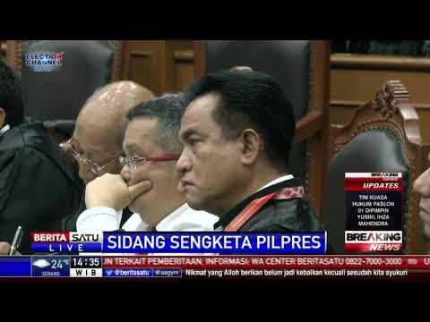 Download Tanggapan Hakim MK Terkait Keberatan Perbaikan Permohonan Sengketa Pilpres HD Mp4 3GP Video and MP3