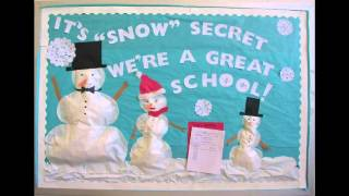 Christmas Bulletin Board Decorations Ideas
