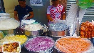 Xe xôi 8 loại của 2 chàng trai Sài Gòn hút khách cực đông bởi vị Pate ngon | street food of saigon