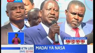 Raila Odinga adai kuwa serikali imekula njama ya kumzuia kusafiri nje ya nchi