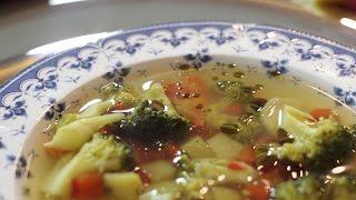 """108. """"Rozgrzewająca zupa z warzyw""""- bezglutenowa kuchnia wegańska Atelier Smaku"""
