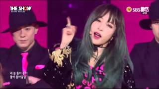 [1080p][Comeback Stage] 151124 EXID (이엑스아이디) - HOT PINK (핫핑크) @ THE SHOW 더쇼