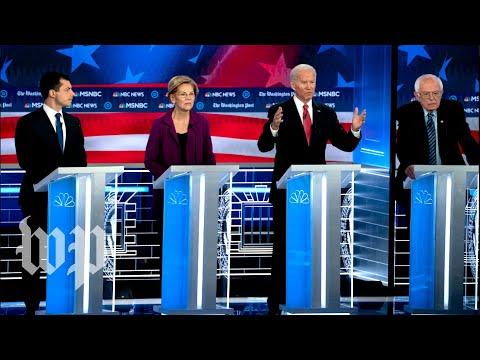 Democrats tackle impeachment, Trump and more at fifth Democratic debate