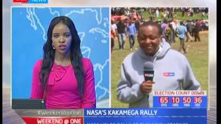 NASA holds rally at Bukhungu Stadium