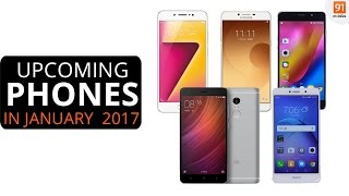 Top Smartphones Expected To Launch In India In January 2017