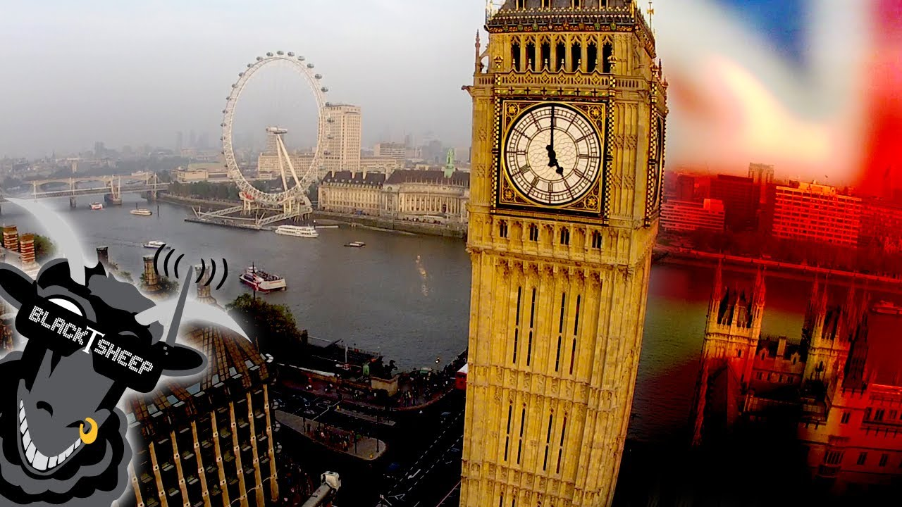 Touring London Has Never Looked Better Than With This UAV Drone