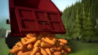 Очень прикольный и смешной мультик Безумная Морковь \ Very cool and funny cartoon Crazy Carrots
