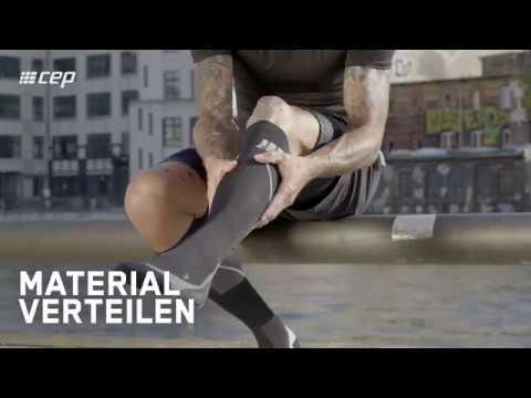 Der Bruch auf Vene des Beines