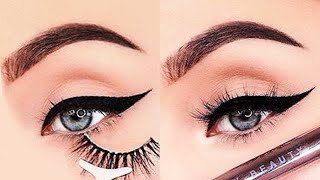 15 Glamorous Eye Makeup Ideas & Eye Shadow Tutorials | Gorgeous Eye Makeup Looks #128