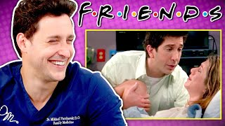 Doctor Reacts To FRIENDS Medical Scenes