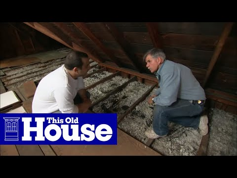 How to Beef Up Attic Insulation - This Old House