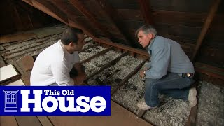 How to Beef Up Attic Insulation | This Old House