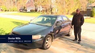 Driver puts 1,000,000 miles on his Honda Accord