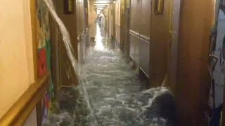 Passengers on Flooded Carnival Ship Say It Reminds Them of 'Titanic'