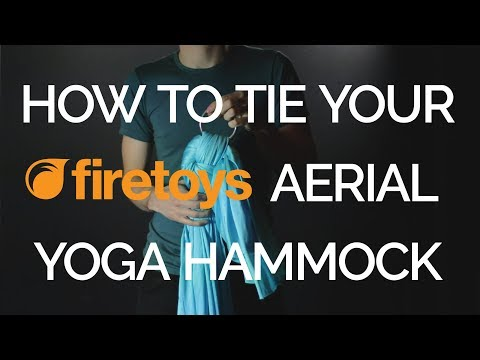Aerial Yoga Hammock + 2 point rigging set
