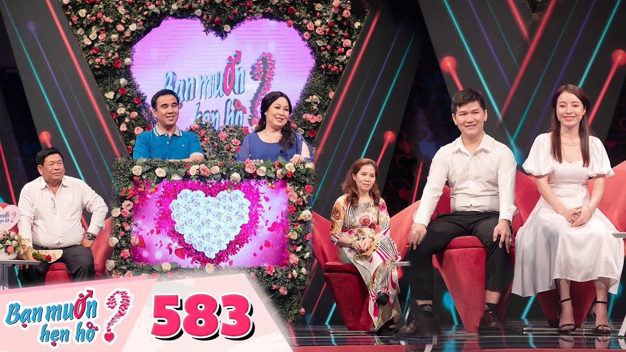 Bạn Muốn Hẹn Hò Tập 583:Cặp đôi trai tài gái sắc khiến Hồng Vân phải thốt lên bấm luôn không cần đếm