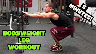 Intense 5 Minute At Home Leg Workout #2 by Anabolic Aliens