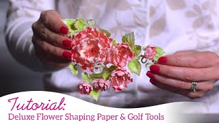 Which Paper Should I Use to Make My Stamped and Die Cut Flowers?