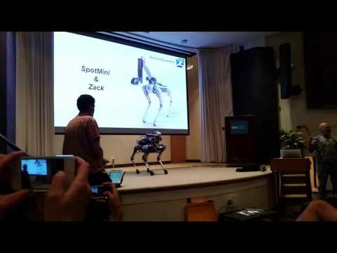SpotMini Live Demo - Boston Dynamics