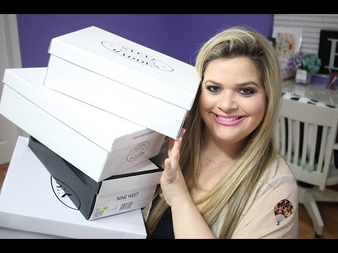 MASSIVE SHOE HAUL / TRY ON: Nine West, Steve Madden & Jessica Simpson