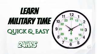 Learn Military Time   Quick & Easy